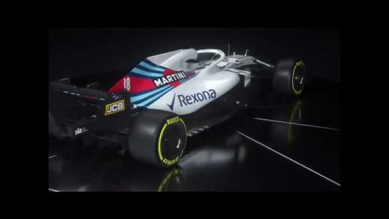 Williams Martini Racing Launches Its 2018 Season With First Look At The Fw41