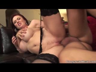 Felony foreplay зачётно трахает красивую мамочку в чулках (big ass, big tits, порно, анал, минет, камшот, зрелые, milf mature)