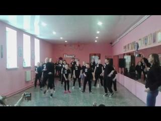 Предновогоднее отчетное открытое занятие школы танцев DABIGI г. Каменск-Уральский