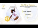 Siraba Dembele FRA All star left wing IHFtv Germany 2017