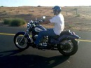Honda steed VLX 1997 in the desert