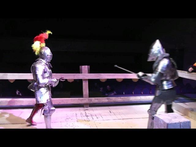 Don Gemfry de Bohun vs Herr Friedrich (Fechtscwert)