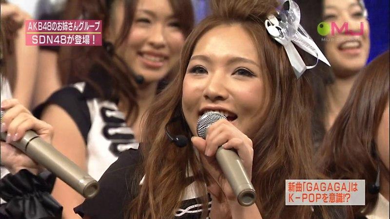 SDN48 GAGAGA 101121 MUSIC JAPAN