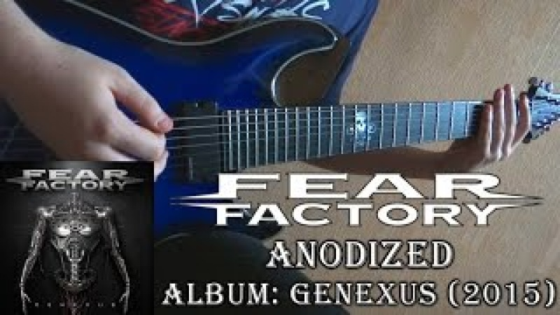 Fear Factory Anodized Guitar Cover TAB by Godspeedy