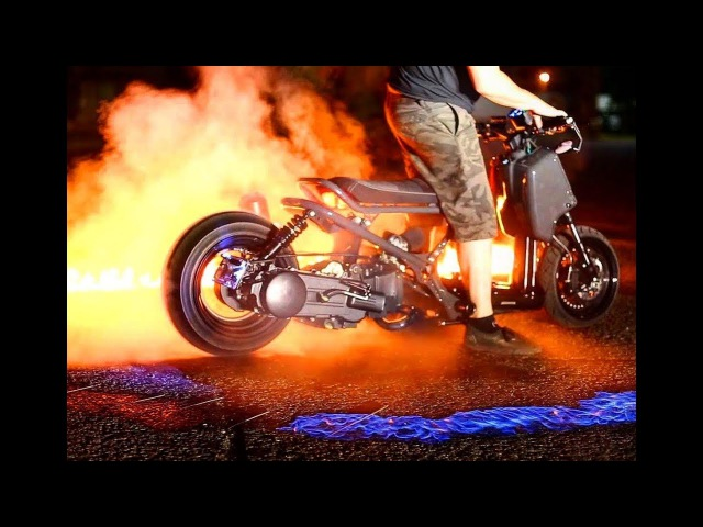 GY6 Ruckus Fire Burnout DELTA ONE Ruckus Project