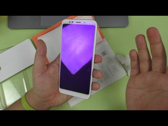 Клею защитную пленку Carkoci KUPISHIK на Xiaomi Redmi 5 PLUS ► идеальная