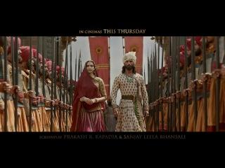 Padmaavat | In Cinemas This Thursday | Ranveer Singh | Deepika Padukone | Shahid Kapoor