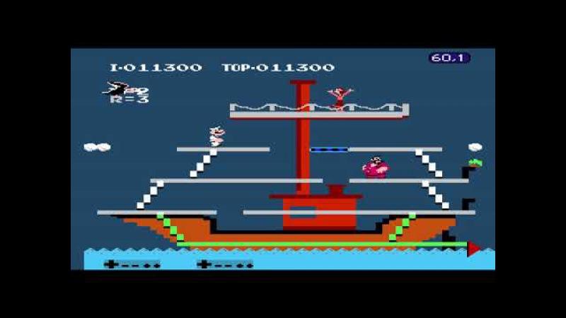 Popeye FCEUX NO DEATH RUN by Azatron