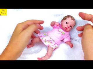 Mini reborn  OOAK baby by Olga KS  Мини реборн  малыш из полимерной глины