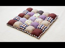 How to make a Bubble Puff Quilt 【泡芙拼布垫】Mother's Day Gift Ideas ❤ 母亲节礼物HandyMum