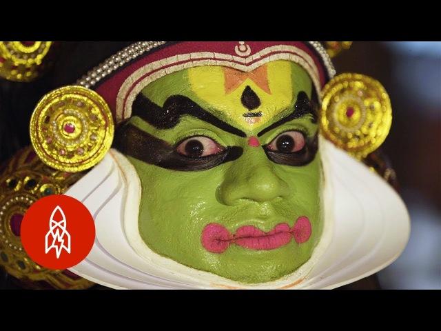 Катхакали Eye Dancing and India's Ancient Art of Kathakali