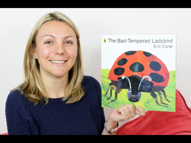 Janine reads THE BAD TEMPERED LADYBIRD by Eric Carle