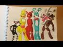 Мои рисунки ФНАФ 4