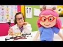 çizgifilmoyuncakları Smarta'nın gözleri bozuldu DOKTORA gidiyor Kukla ile çocukvideosu