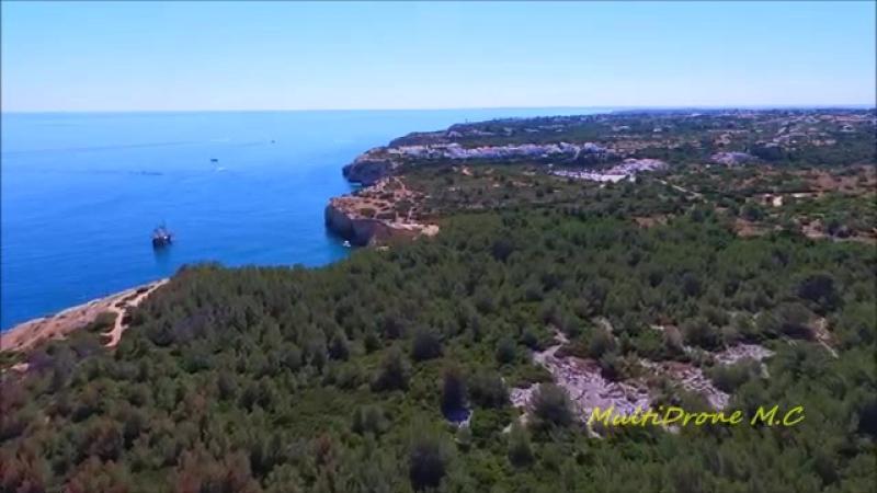 « Algar de Benagil_Secret Caves» Algarve - Portugal «Vista Aérea - Aerial View»