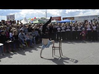 Танцевальный батл в День молодежи. г. Соликамск