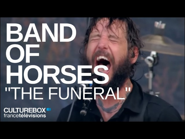 Band Of Horses The Funeral Live @ Rock En Seine 2017