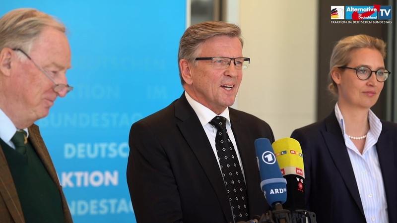 Gerold Otten als Kandidat für das Amt des Bundestagsvizepräsidenten gewählt!