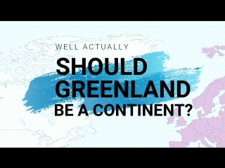 Why is australia a continent and greenland is not
