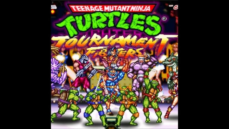 Турнир (Tournament) по игре TMNT TF (SNES) - 10) (tubustd VS Gektor) - 02.04.19