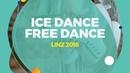Lajoie Marjorie Lagha Zachary (CAN) | Ice Dance Free Dance | Linz 2018