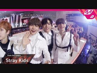 [video] 181210 stray kids ending finale self camera @ 2018 mama premiere in korea