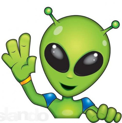 Картинка инопланетянин для детей на прозрачном фоне