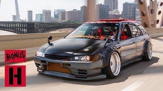 Honda Hot Rod Part Accord Part Nissan a Tire Slaying RWD Wagon