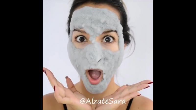 Пенящаяся маска Elizavecca патчи с черным жемчугом Petitfee