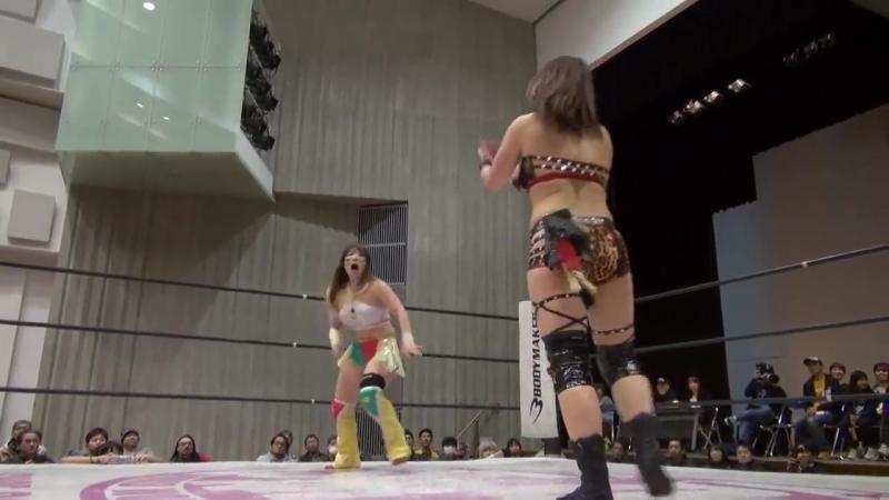 5. HZK Jungle Kyona vs. Io Shirai Yoko Bito