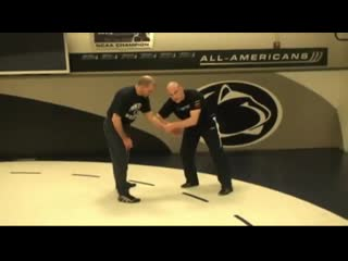Cael sanderson. clearing wrists