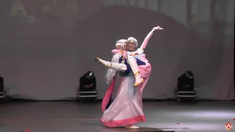 Вольтрон: Легендарный защитник, принцесса Аллура, принц Лэнс (Фан-дефиле) - Shibuya 22 2019