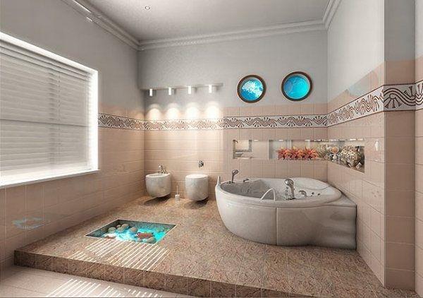Дизайн интерьера в морском стиле, изображение №4
