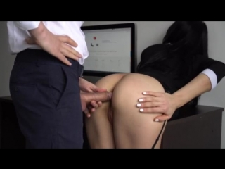 Босс засадил секретарше 2 | amateur anal & blowjob for horny secretary with her office boss