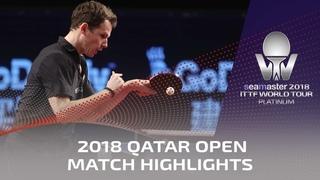 2018 Qatar Open Highlights I Fan Zhendong vs Jonathan Groth (1/4)