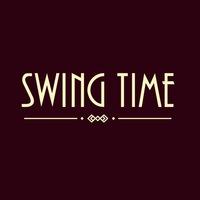 Логотип Танцы под джаз в Омске. Swing Time.