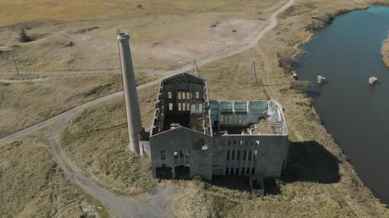 Красногорская электростанция времён Карафуто