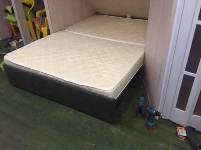 оригинальная раздвижная двуспальная кровать своими руками вконтакте