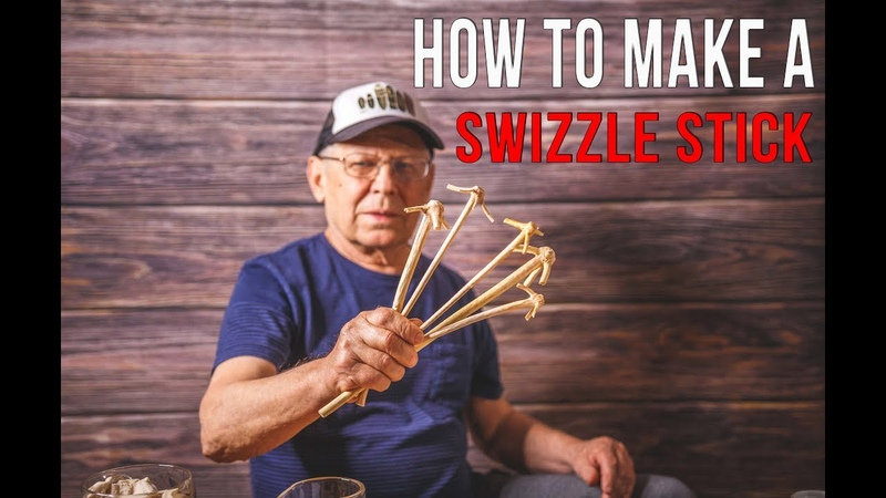 How To Make A Swizzle Stick For Cocktails