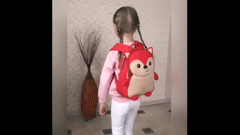 Неопреновый рюкзак Лисичка