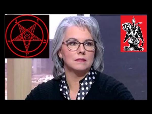 JACLINE MOURAUD L'AGENT SATANISTE DU SYSTEME CONTRE ATTQUE