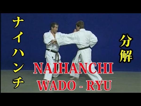 WADO - RYU kata NAIHANCHI Bunkai 和道流 形 分解 (ナイハンチ)
