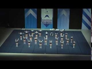 Cheerleading .Junior Cheer All Girl Elite Finland Suomi.