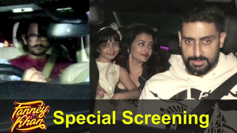 Aamir Khan, Aishwarya Rai Bachchan And Others At The Special Screening Of Fanney Khan