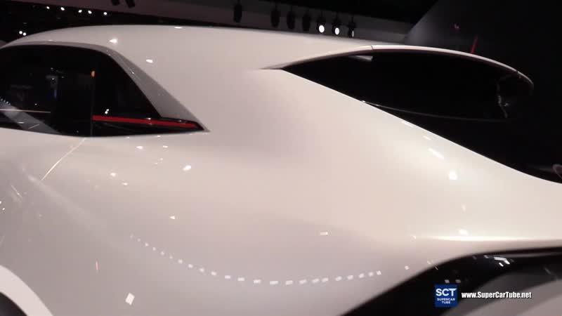 Infiniti QX Ispiration Concept Exterior and Interior Walkaround 2019 Detroit Auto Show