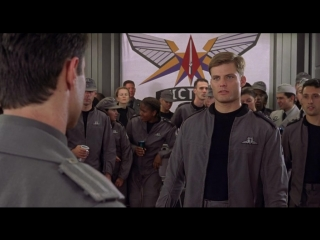 Звездная пехота  Звездный десант  Starship Troopers  [MVO 1997 BDRip]