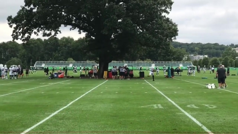 Jets' Sam Darnold Day 16 camp highlights