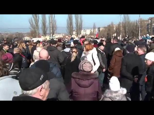 Алчевск 1 марта 2014 Русвесна в городе