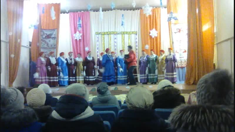 Выступление фольклорного коллектива ПРЯЛИЦА в Кянде