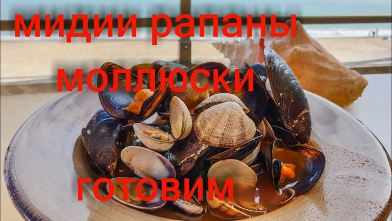 Готовим дома моллюски. Рецепт приготовления мидий, рапанов, морских улиток от Герольда. IraGerold.